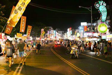 台湾最南端の夜市「墾丁大街夜市」で熱気に満ちた時を
